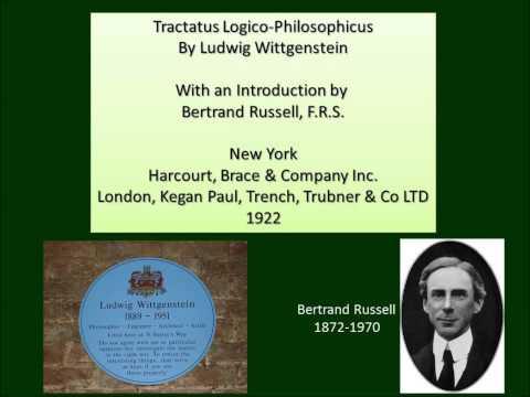 Ludwig Wittgenstein, Tractatus Logico-Philosophicus 1922 Complete