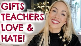 Gifts Teachers Love And Hate!  What To Buy A Teacher?  |  Emily Norris