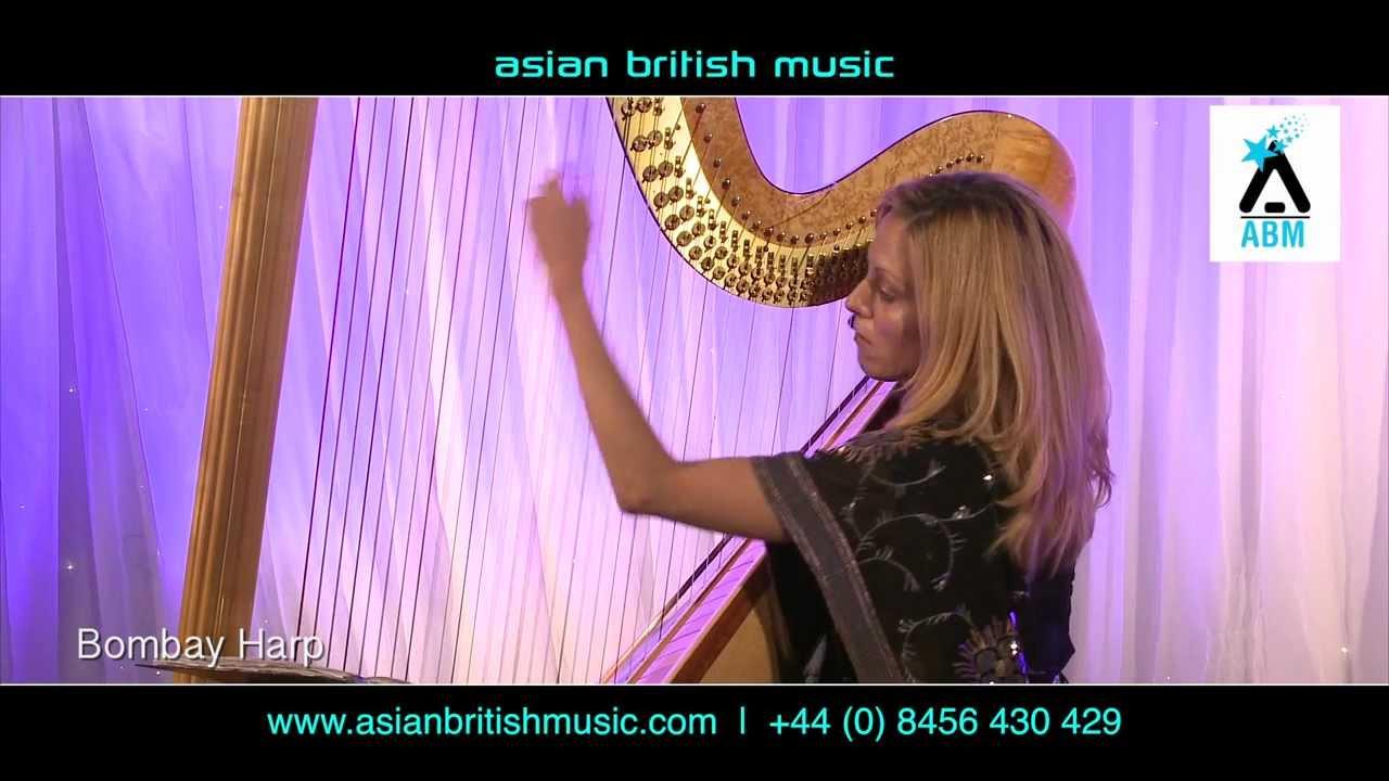 Bombay Harp - Bollywood Harpist - YouTube