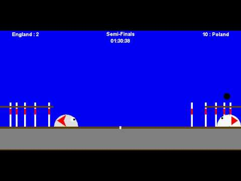 Slime Games - 1P - Slime Bowling - (Knocked out of Semi-Finals)