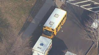 School Bus Accident In Newark