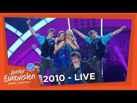 Jill & Lauren - Get Up! - Belgium - 2010 Junior Eurovision Song Contest