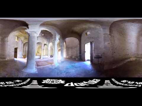 Museu de Terrassa - Església de Sant Miquel - vídeo 360 graus Barcelona