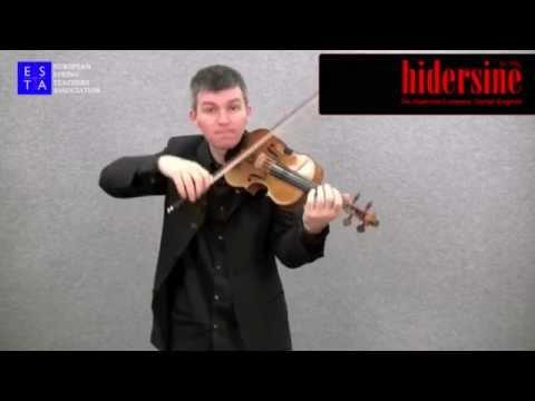 Violin Technique - Spiccato