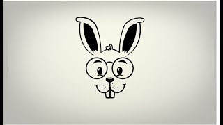 How to draw Rabbit Line art in illustrator