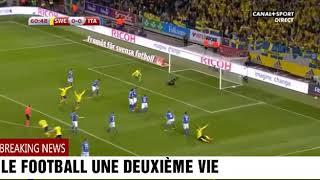 Suède vs Italie 1-0 Tout Les Buts Résumé Du Match Qualification CDM Europe 2017/2018
