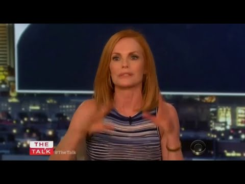 Marg Helgenberger on the series finale of 'CSI'  The Talk Sep 25th, 2015