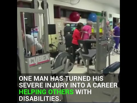 Unique Gym Gives People With Disabilities New Hope