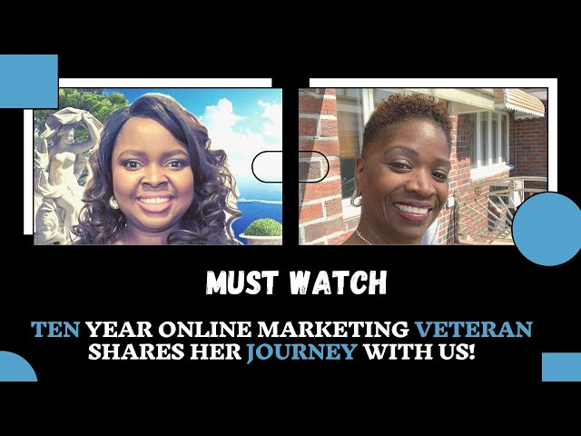10 Year Online Marketing Veteran Shares Her Journey | SSM