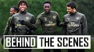 The hard work continues | Behind the scenes at Arsenal training centre
