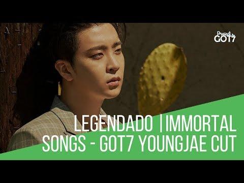 [PT/BR] 180203 Immortal Songs - GOT7 YOUNGJAE CUT