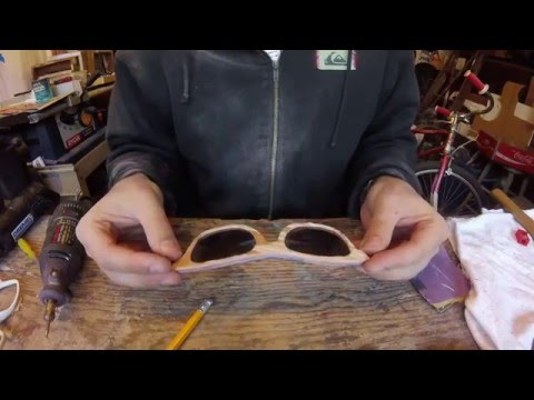Making Skateboard Sunglasses