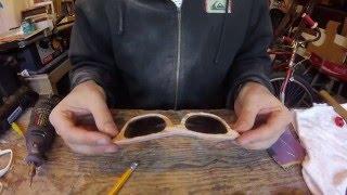 Making Skateboard Sunglasses