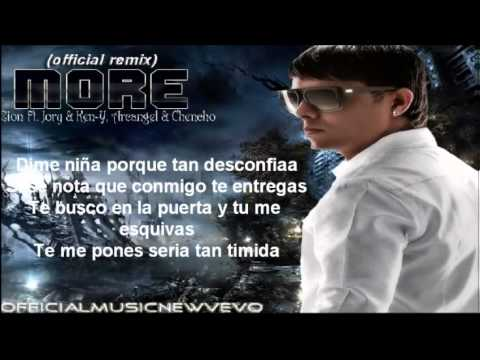 More (Remix) (Official Letra)   Zion Ft...