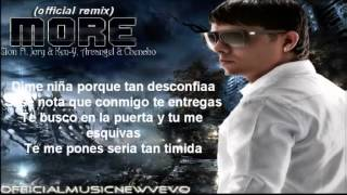 More (Remix) (Official Letra)   Zion Ft Jory  Ken Y, Chencho  Arcangel ★REGGAETON 2012★