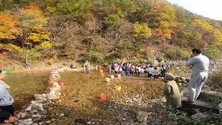 남강캠프 송어잡기체험