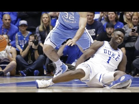 6ca413f24c2b Zion Williamson s scripted Shoe Blowout-Like Mike-Duck Theme-Other related  Stories