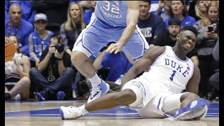 Zion Williamson's scripted Shoe Blowout-Like Mike-Duck Theme-Other related Stories