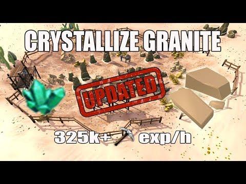 [Runescape 3] Crystallize Granite Guide 2017 | 325k+ Mining Exp/h