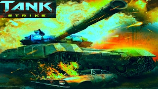 Новый онлайн мультик TANK STRIKE Война танков много оружия новых танков Видео для детей.