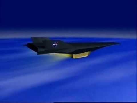 NASA X-43 Flight Animation Hypersonic Scramjet X-Plane ...