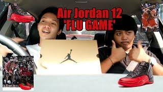 air jordan 12 flu game bred w raffle review on feet bahasa indonesia