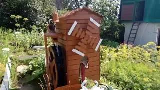 Декоративная водяная мельница из Набережных Челнов