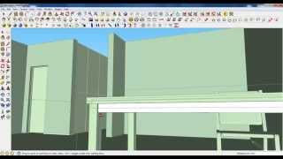 Google Sketchup Tutorial Part 05: Dining Room Modeling (chair And Table)