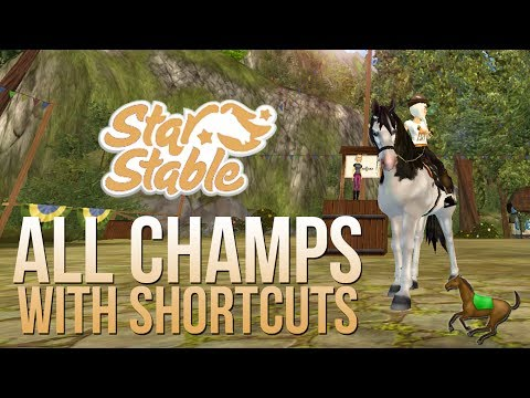 All Champs with Shortcuts! || Star Stable Online