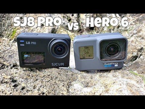 SJCAM SJ8 Pro - vs - Gopro Hero 6 - Both Support 4K 60FPS!
