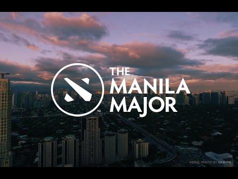 DOTA2 Manila Major - Main Even Days 1 - Caster : RoCkLEE [THAi CASTER]