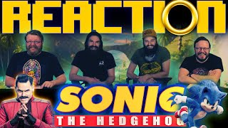 Sonic: The Hedgehog (2020) MOVIE REACTION!!