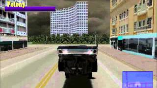 Driver 1 (PSX) Fun with gameshark codes