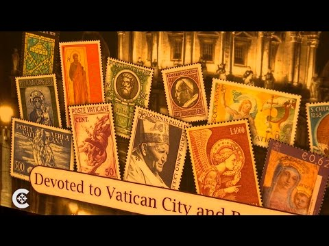 Stories told by Vatican stamps