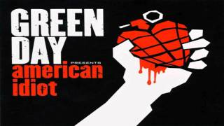 Green Day - American Idiot [Bass Backing Track]