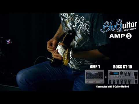 BluGuitar Amp1 100-watt 4-channel Pedalboard Amp with Nanotube