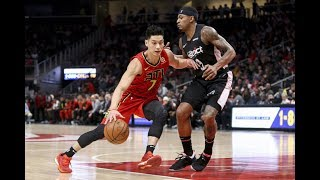 Jeremy Lin's Offense & Defense Highlights 2018-12-19 Wizards VS Hawks