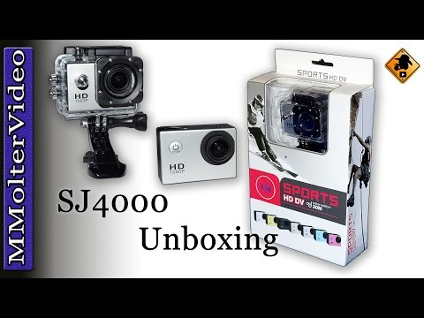 SJ4000 Action Cam Wasserdicht Unboxing von MMolterVideo