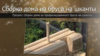 Как построить баню из бруса своими руками: технология, сборка (видео)