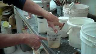 Deflocculated and Flocculated Glazes