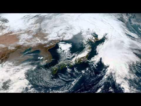 Earth From Space - Oct 28, 2015: Japan, Korea, Beijing & Shanghai
