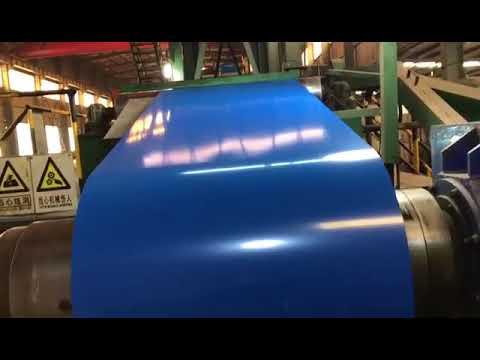 color coated ppgi ral 9002 process