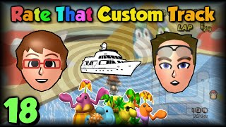 Mario Kart Wii - Rate That Custom Track #18 ~ Rubber Duck Monster!