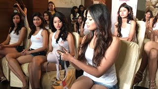 Triumph Session With fbb Colors Femina Miss India East 2017 Finalists
