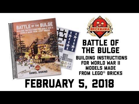 Battle of the Bulge: Building instructions for World War II Models