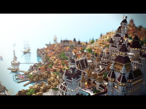 [Minecraft Timelapse] Novigrad - By Elysium Fire + DOWNLOAD