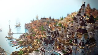 [Minecraft Timelapse] Novigrad - By ElysiumFire + DOWNLOAD