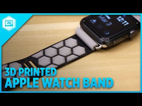 3D Printed Band for Apple Watch