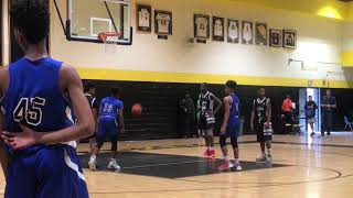 Team L.A.B. vs Team Skillz -Marvin Guthrie Coach Dayal
