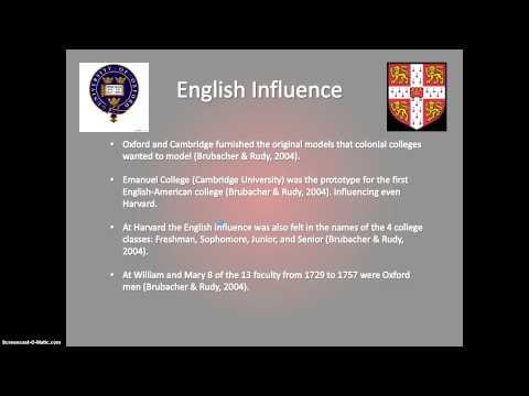 Colonial Colleges - Jon Verda